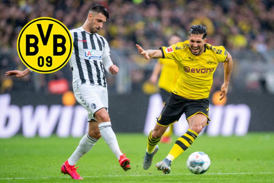 Mit viel Glück! BVB müht sich zu Sieg gegen Freiburg