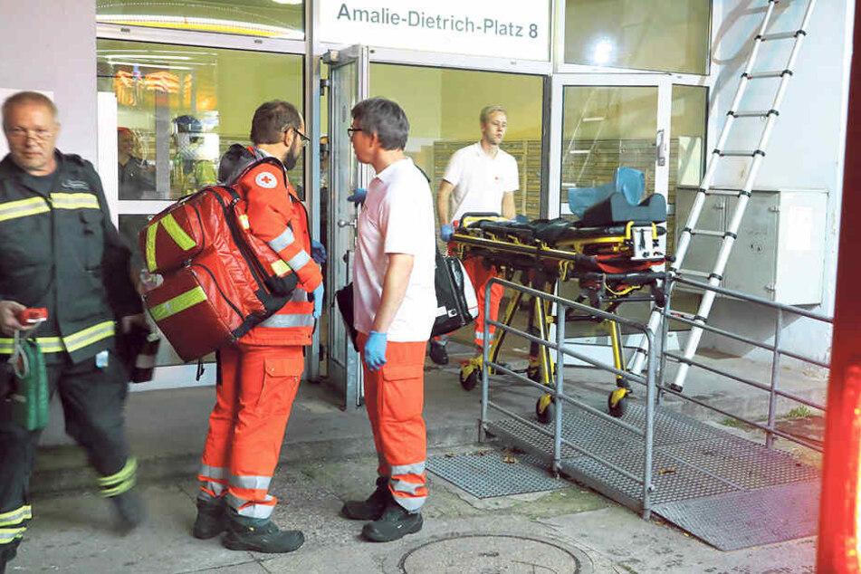 Verletzt wurde niemand.