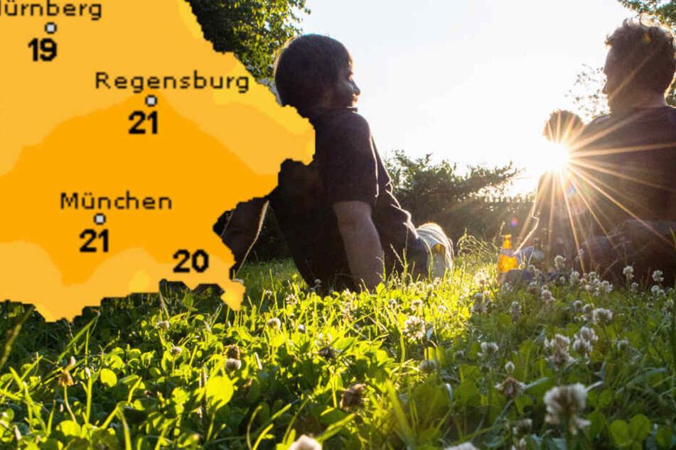 Wochenende steht vor der Tür: So wird das Wetter in Bayern