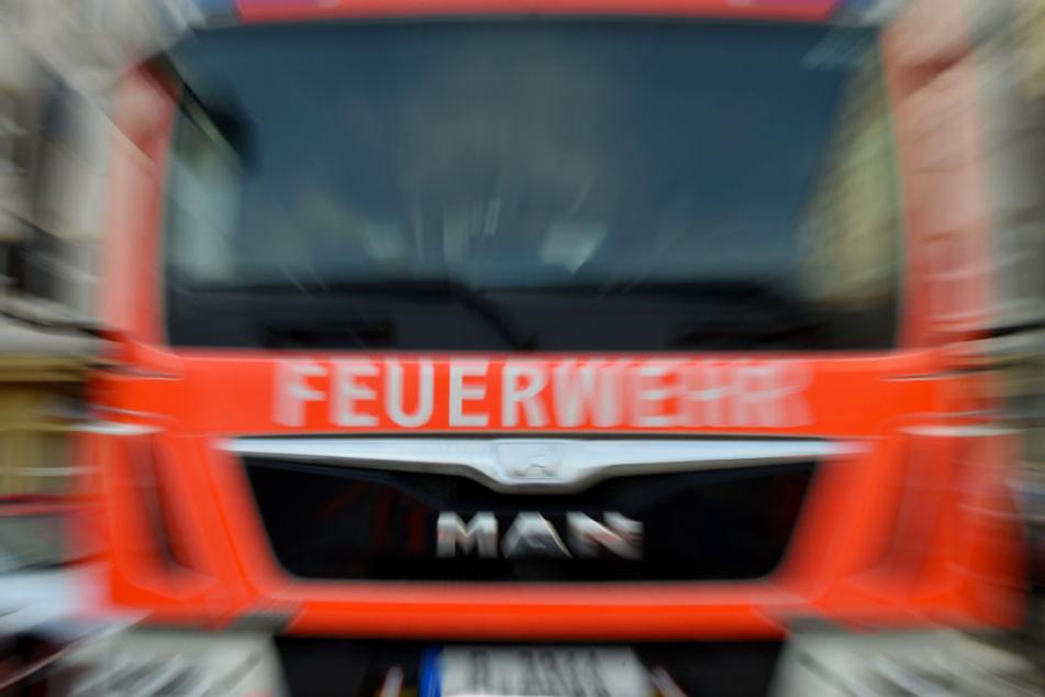 Mit einem Feuerwehrauto ging es Richtung Burgerladen. (Symbolfoto)