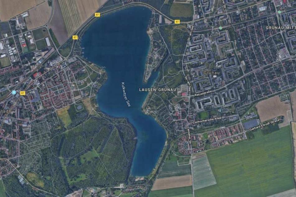 Der Mann war mit seinem Bruder zur einer Stand-up-Paddel-Tour auf dem Kulkwitzer See aufgebrochen und wollte dabei allein zurück zum Ufer schwimmen.