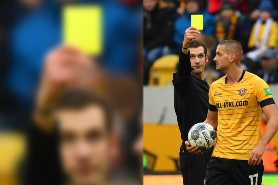 René Klingenburg (r.) ist einer, der auch mal dazwischenhaut - von Schiri Christof Günsch gab's dafür in der Partie gegen Kiel die Gelbe Karte.