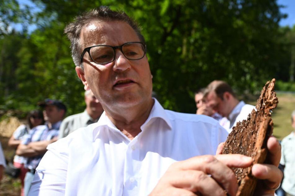 Baden-Württembergs Agrarminister Peter Hauk (58, CDU).