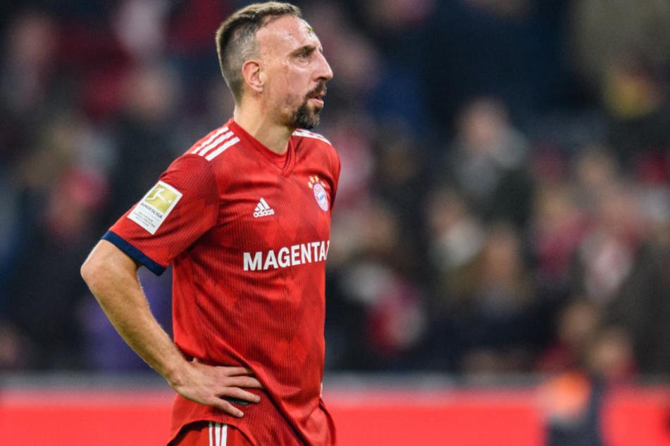 Franck Ribéry und der FC Bayern München kassierten eine Niederlage gegen den BVB.