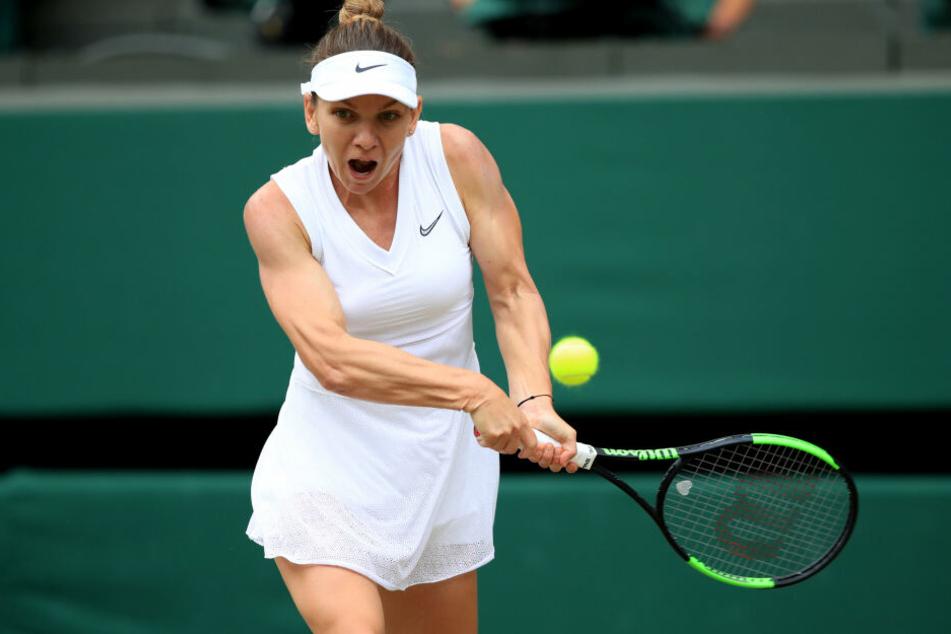 Simona Halep siegt in Wimbledon.