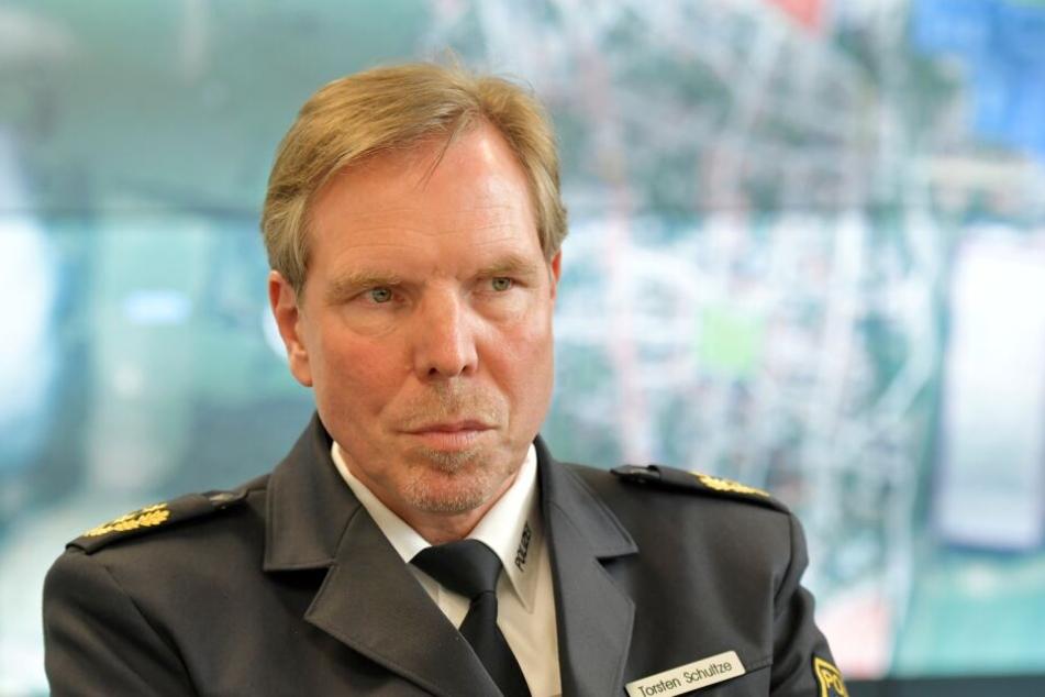 Geht von einem ruhigen Einsatzgeschehen aus: Polizeipräsident Torsten Schultze.