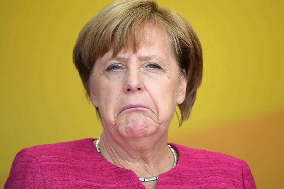Bundeskanzlerin Angela Merkel verliert immer mehr Zuspruch in der Bevölkerung.