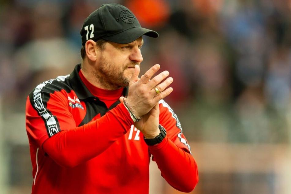 Steffen Baumgart ist stolz auf die Leistung seiner Mannschaft.