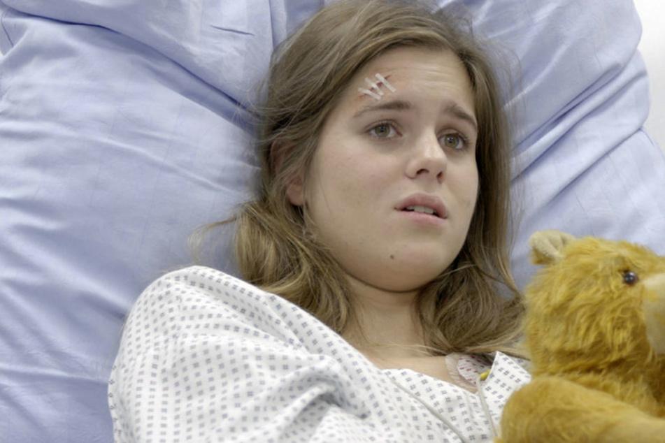 In Folge vier wird die schwangere Anna Fischer (14) vergewaltigt und niedergestochen.