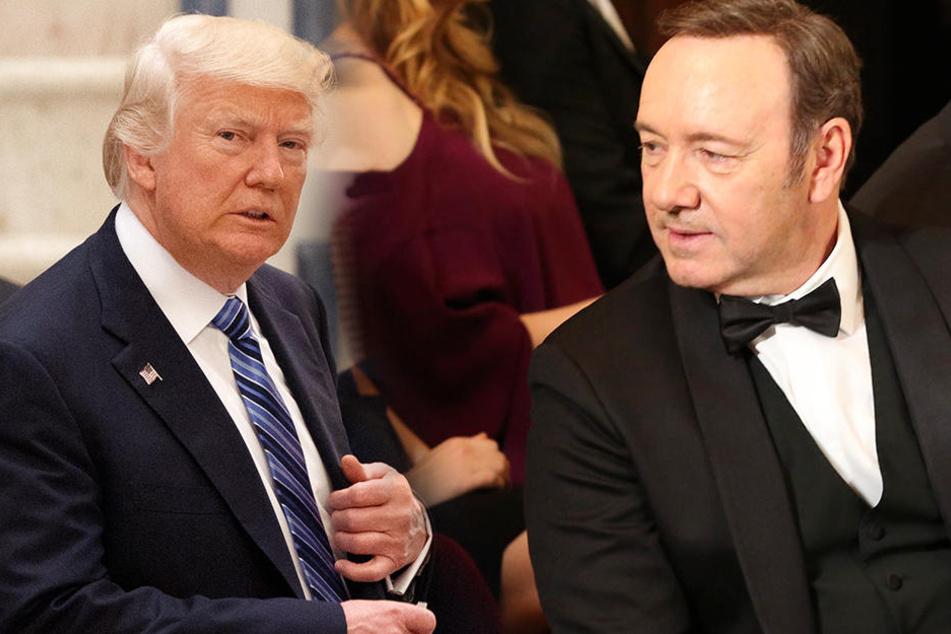 """Wegen Trump: Für Spacey  ist """"echte"""" Politik wie eine Realityshow"""