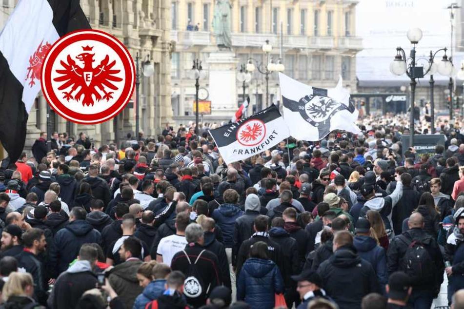 Europa-Euphorie! 10.000 Eintracht-Fans wollen nach Lissabon, doch es gibt ein Problem
