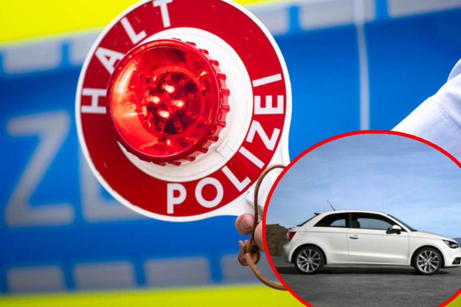 Die Polizei sucht den Fahrer eines weißen Audi A1, da dieser Unfallflucht begangen hat. (Symbolbild)