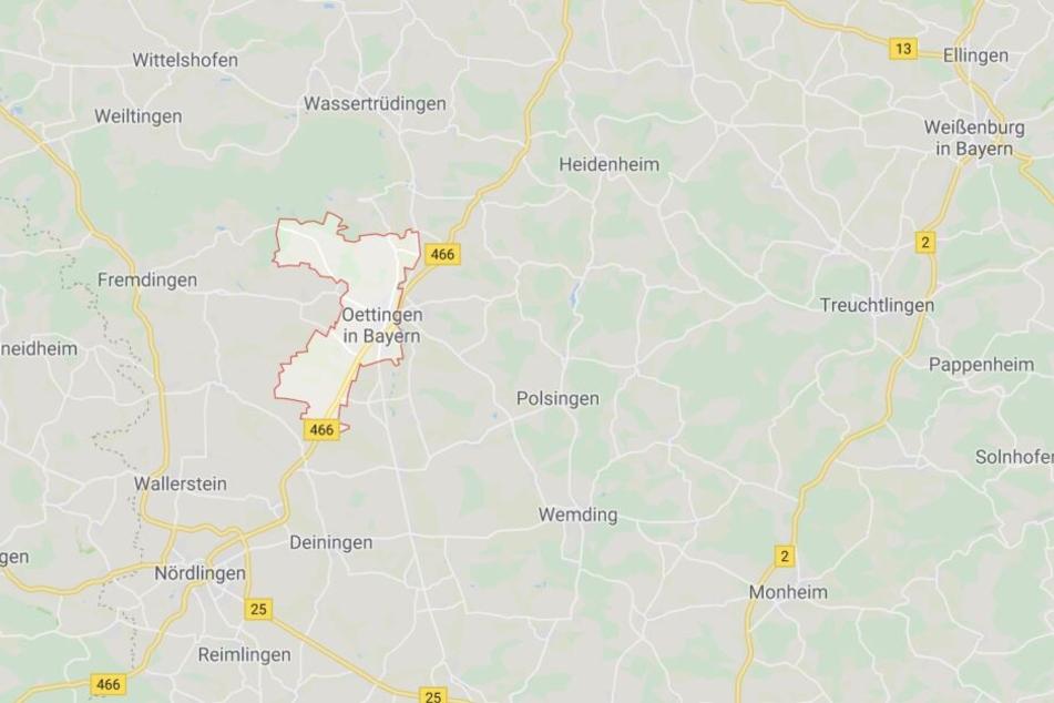 In Oettingen in Bayern ist es auf einem Skaterplatz zu einem schweren Zwischenfall gekommen.