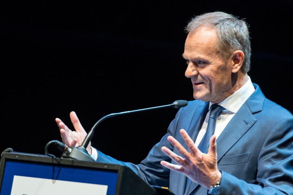Ex-EU-Ratspräsident Donald Tusk nennt Fridays for Future verrückt