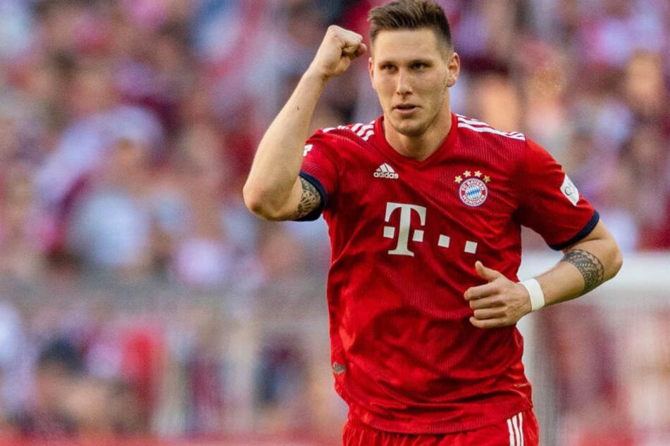 Bayerns Niklas Süle erzielte gegen den SV Werder Bremen das einzige Tor des Tages.