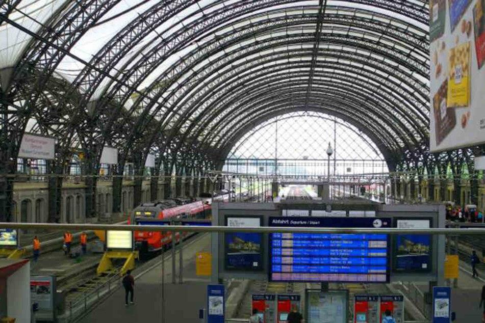 Am Dresdner Hauptbahnhof ging der 17-Jährige den Beamten ins Netz.