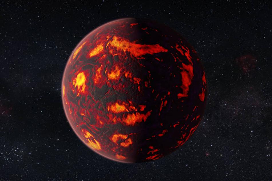 """Die sogenannte """"Supererde"""" ist doppelt so groß wie unsere Erde. (Symbolbild)"""