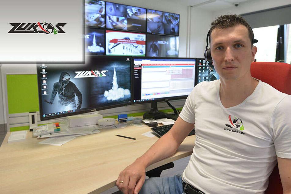 Chemnitz: Razzia bei Chemnitzer Sicherheitsfirma: Polizei stürmt Zukos