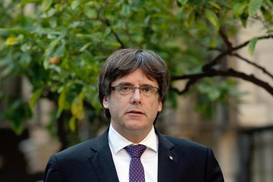 Am Donnerstag bis 10 Uhr soll Charles Puigdemont, Chef der katalanischen Regionalregierung, erklären, ob er Bestrebungen für einen eigenen Staat abbricht.