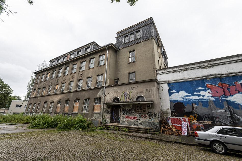"""Die Skate-Halle """"Druckbude"""" liegt in der Schönherr-Fabrik. Die Szene-Location ist nach zwölf Jahren etwas heruntergekommen."""