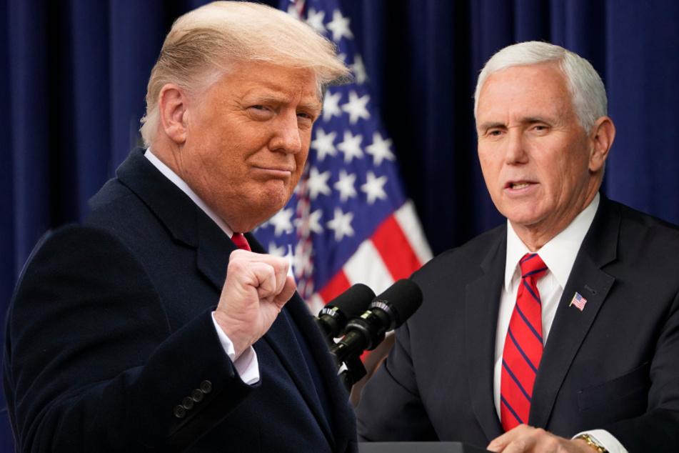 US-Vize Mike Pence lehnt sofortige Trump-Absetzung offiziell ab