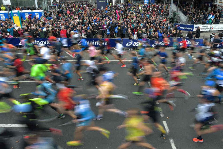 Gleich 258 Läufer nahmen es mit den Regeln nicht ganz so ernst. (Symbolbild)