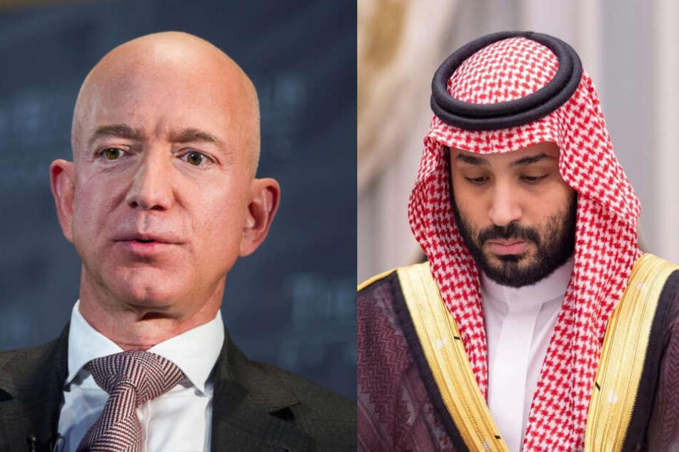 Handy vom Amazon-Chef gehackt: Was hat der saudische Scheich damit zu tun?