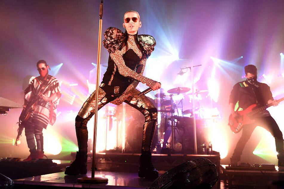 Sieht man beim Topmodel Finale der 13. Staffel eine Tokio-Hotel-Show