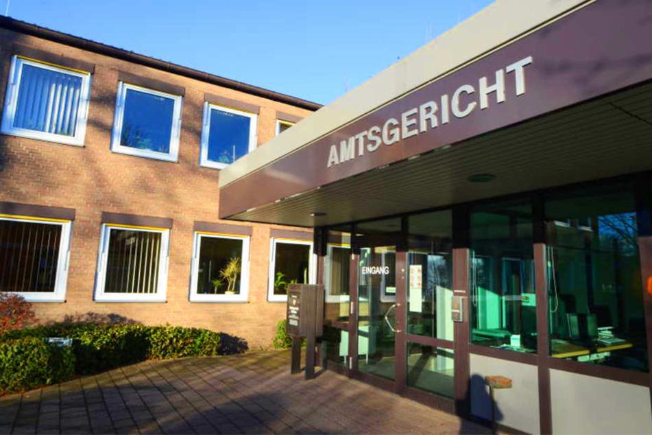 Vorm Amtsgericht in Rahden wurde der Fall verhandelt.