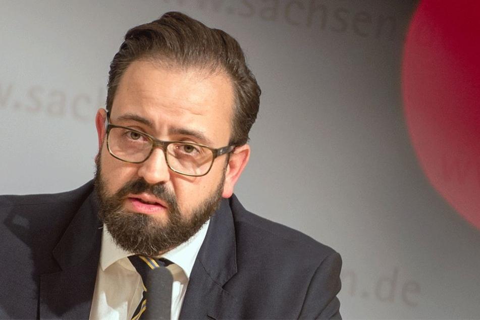 Minister Sebastian Gemkow (39, CDU).