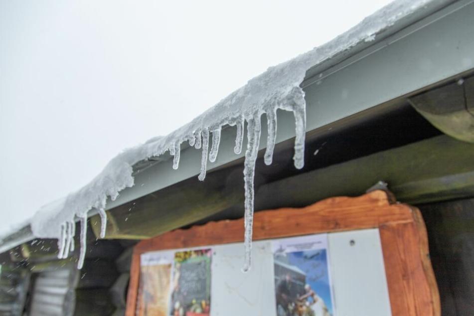 Eine Kaltfront überquert nahezu den kompletten Bundesstaat und ließ die Temperaturen in den Keller fallen.