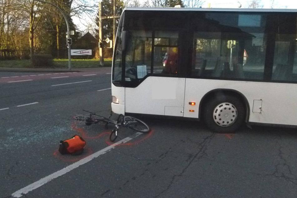 Ein Krankenwagen musste die 55-Jährige in ein Krankenhaus bringen.