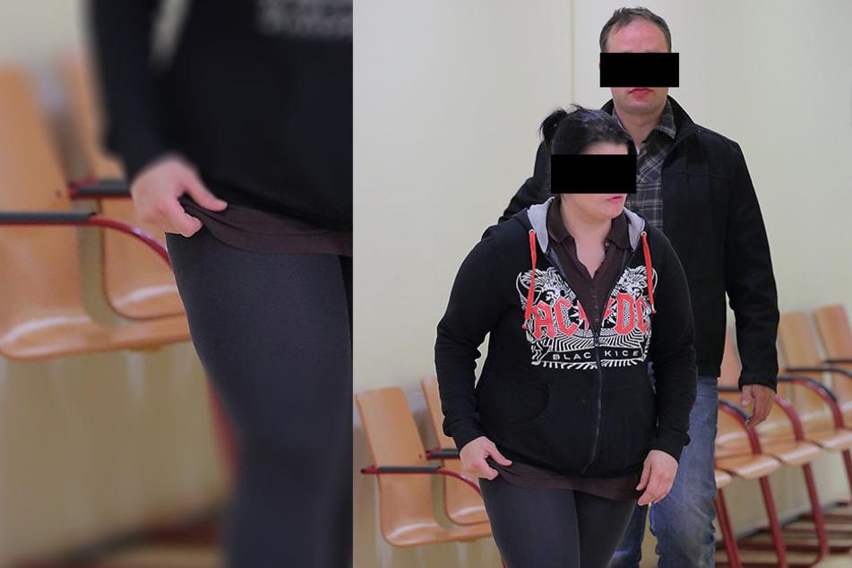 Kaum eigene Erinnerungen an den Vorfall: Georg G. (36) und seine Freundin Steffi R. (31).