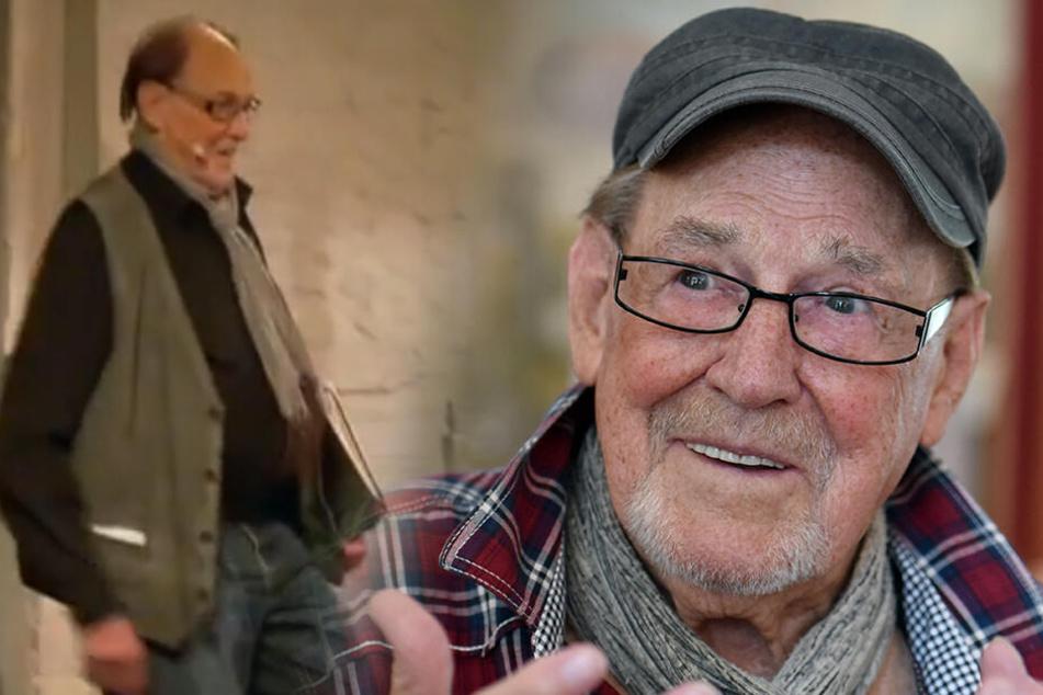 Seit fast 80 Jahren steht er auf der Bühne: Herbert Köfer (98).