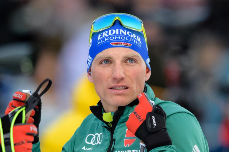 Biathlon-Star Erik Lesser verliert seine Waffe am Flughafen