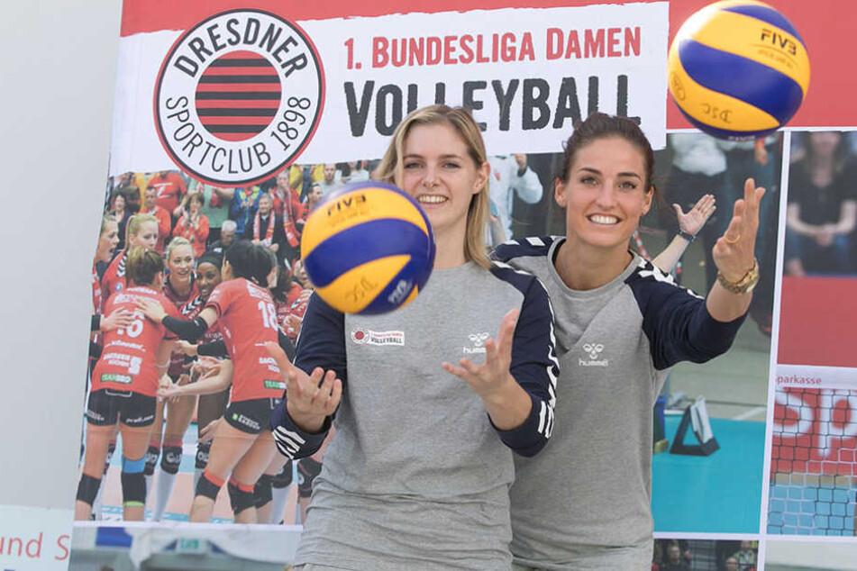 Das neue Dream-Team:Valerie Courtois (25, links) undMyrthe Schoot (28).