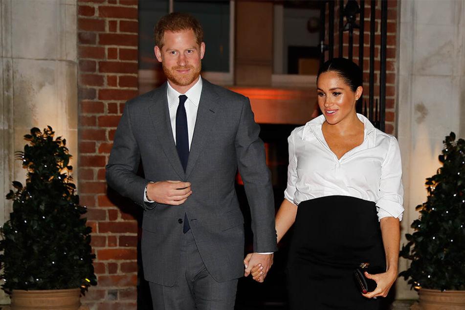 Das erste Kind von Meghan und Harry soll im April zur Welt kommen.