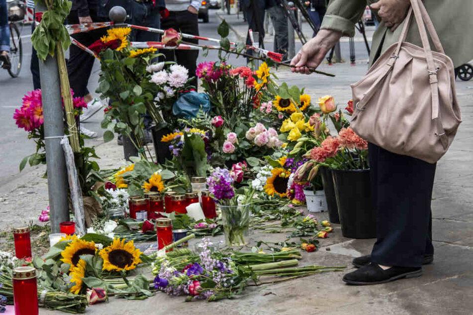 Viele Menschen trauern um die vier Unfallopfer aus Berlin.