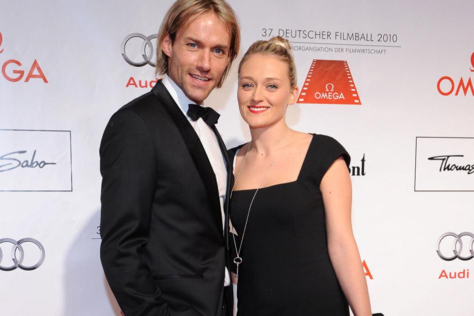 Sven Hannawald 2010 mit seiner damaligen Freundin Marie Therese Müller auf einer Veranstaltung in München.