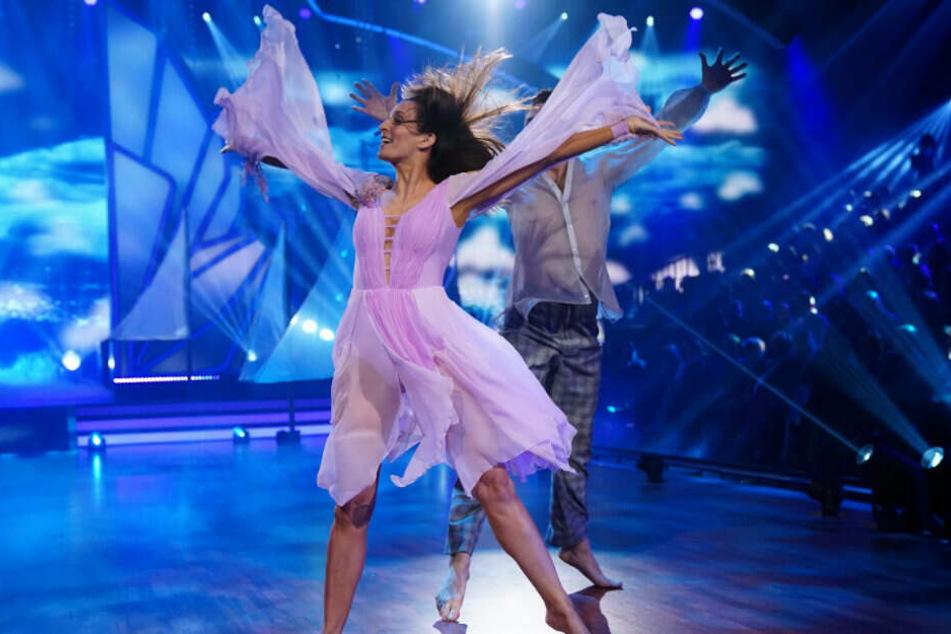 Ulrike Frank und Robert Beitsch tanzen Contemporary.