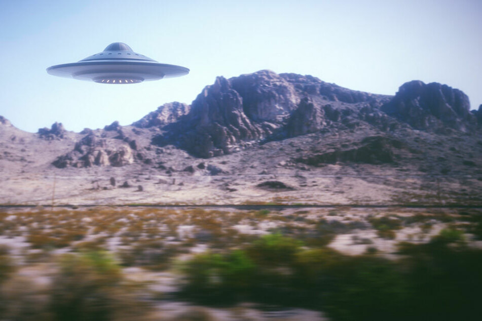 Gibt es in der Area 51 wirklich UFOs? (Symbolbild)