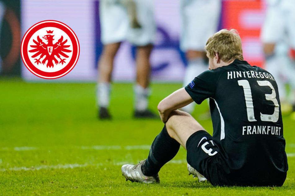 Erst Schock, dann Erleichterung: Die Eintracht-Kicker dachten, sie wären draußen