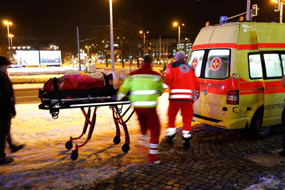 Zwei Bewohner mussten ins Krankenhaus.