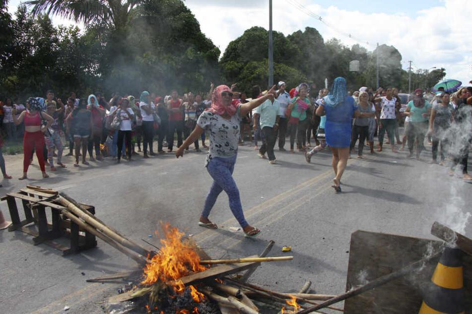 In Manaus brachen am Mittag Unruhen in einem Gefängnis aus, am Ende starben 15 Menschen.