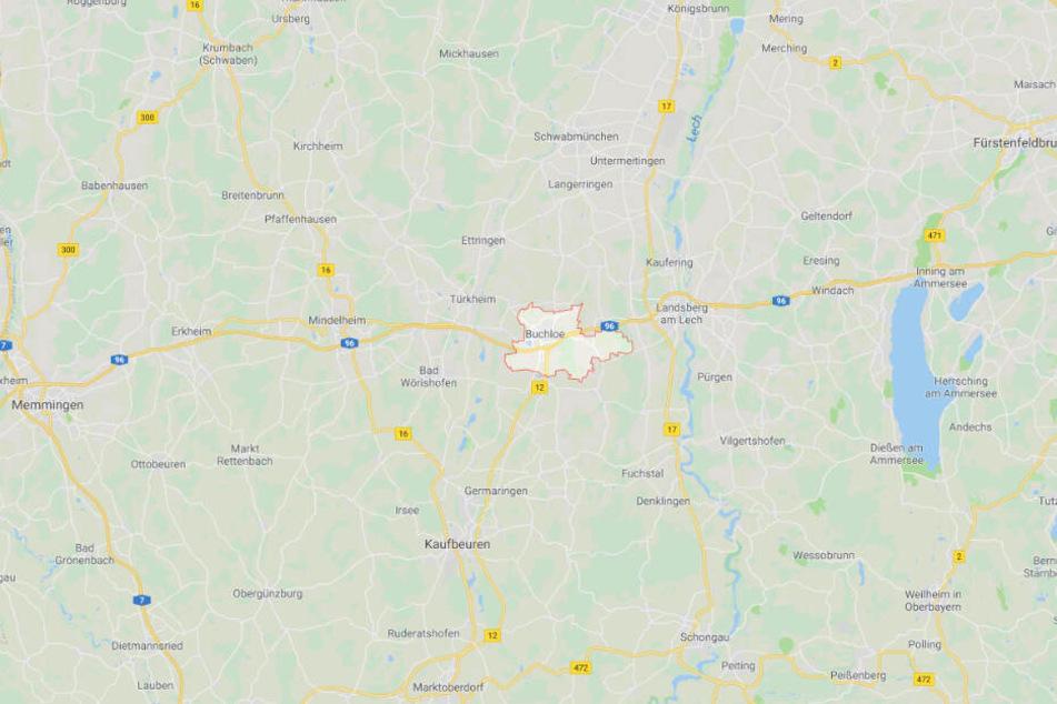Der tragische Unfall ereignete sich auf der B12 bei Buchloe im Landkreis Ostallgäu.