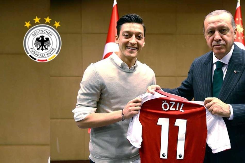 Özil bricht sein Schweigen und verteidigt Erdogan-Foto