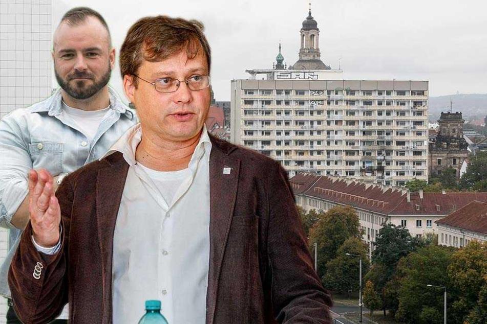 Abriss oder Aufstockung? DDR-Hochhaus spaltet Dresden