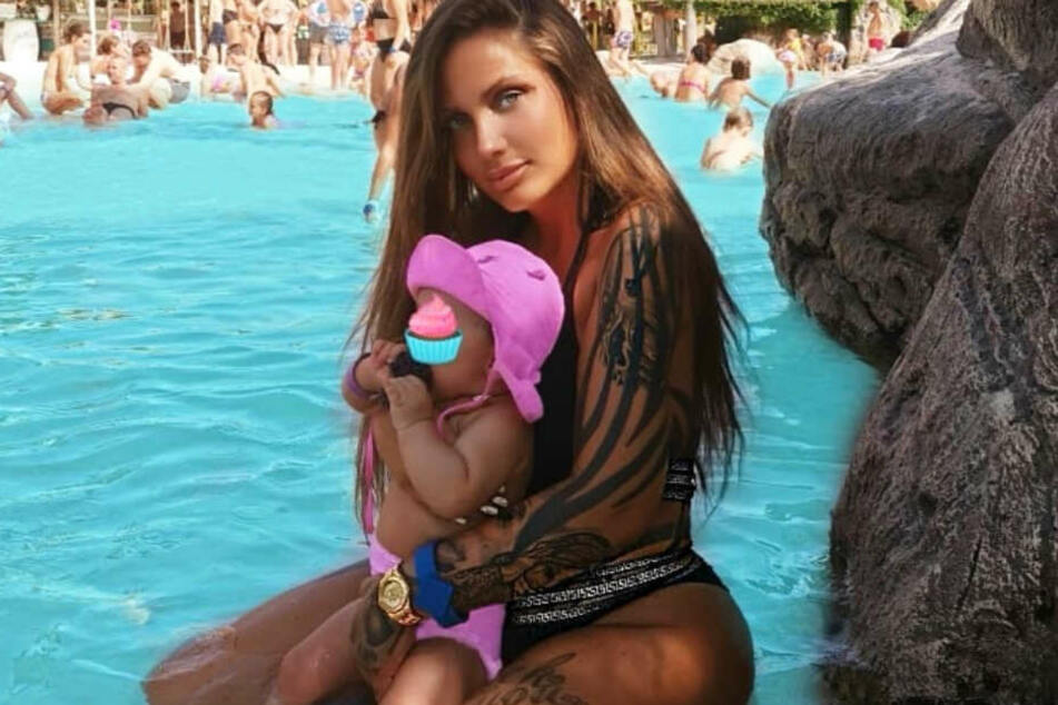 Die Musikerin liebt ihre Tochter Aaliyah Jeyla sehr.