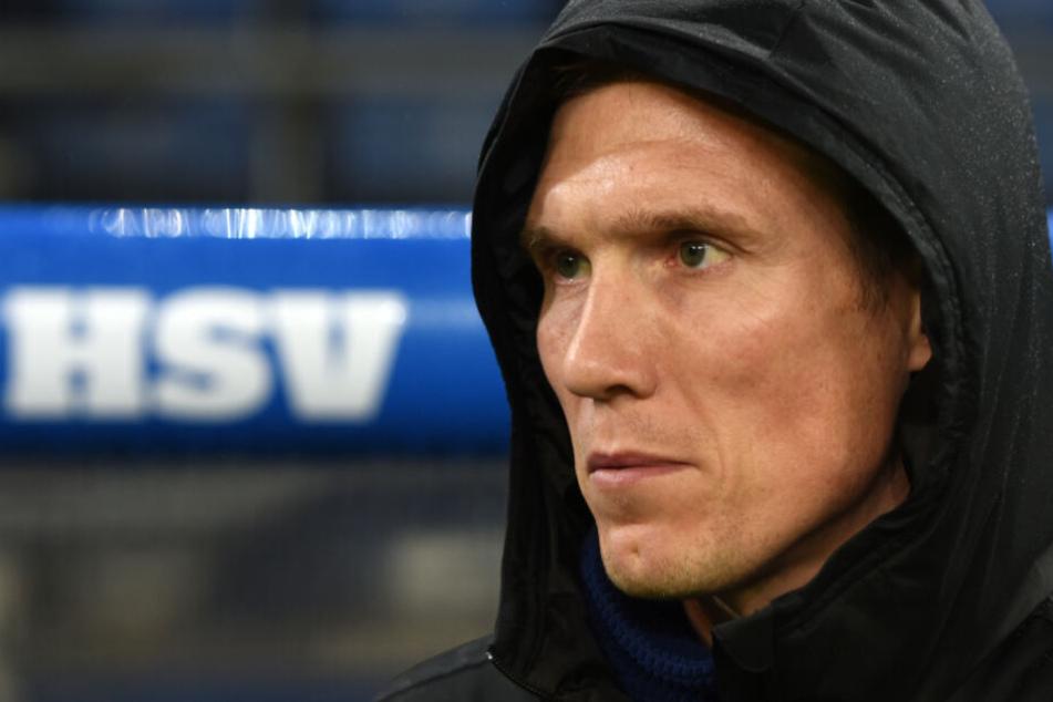 HSV-Trainer Hannes Wolf steht unter Erfolgsdruck, da die Rückrunden-Bilanz zu schlecht ist.