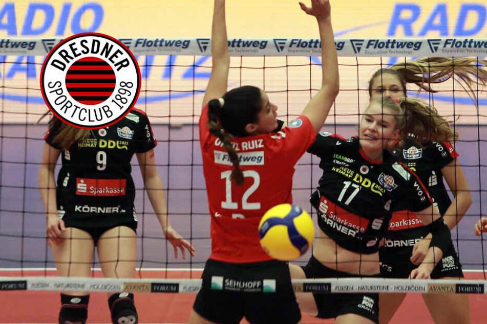 Auftrag an die Girls des Dresdner SC: Raben schlagen und Platz 4 festigen!